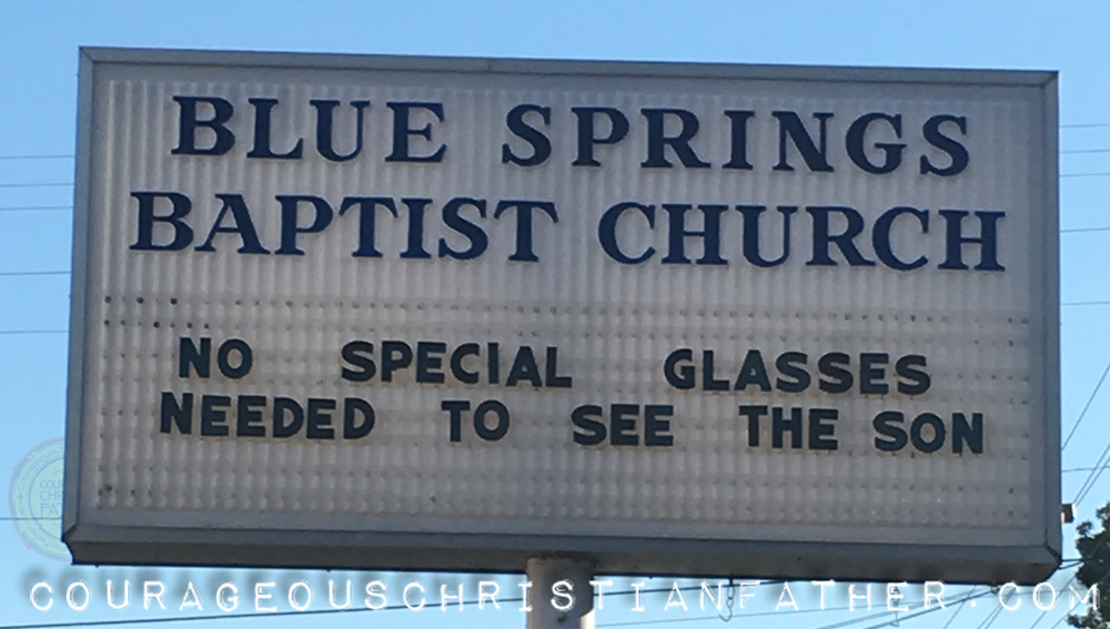 No Special Glasses Needed To See The Son (Blue Springs Baptist Church Rutledge, TN)