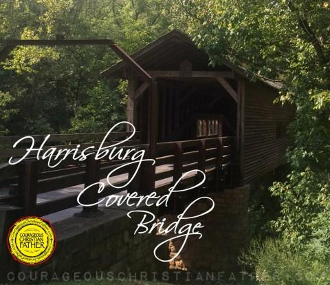 Harrisburg Covered Bridge #HarrisburgCoveredBridge