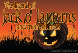 The legend of jack-o'-lanterns and their evil roots #Jackolanterns