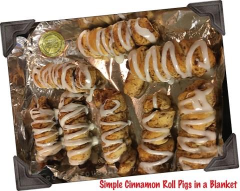 Simple Cinnamon Roll Pigs in a Blanket