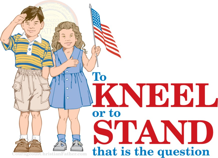 To Kneel or to stand that is the question