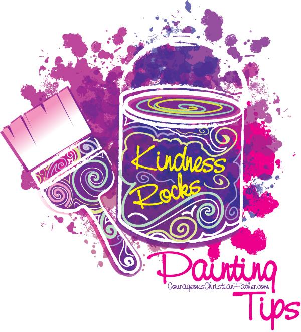 Kindness Rocks Painting Tips