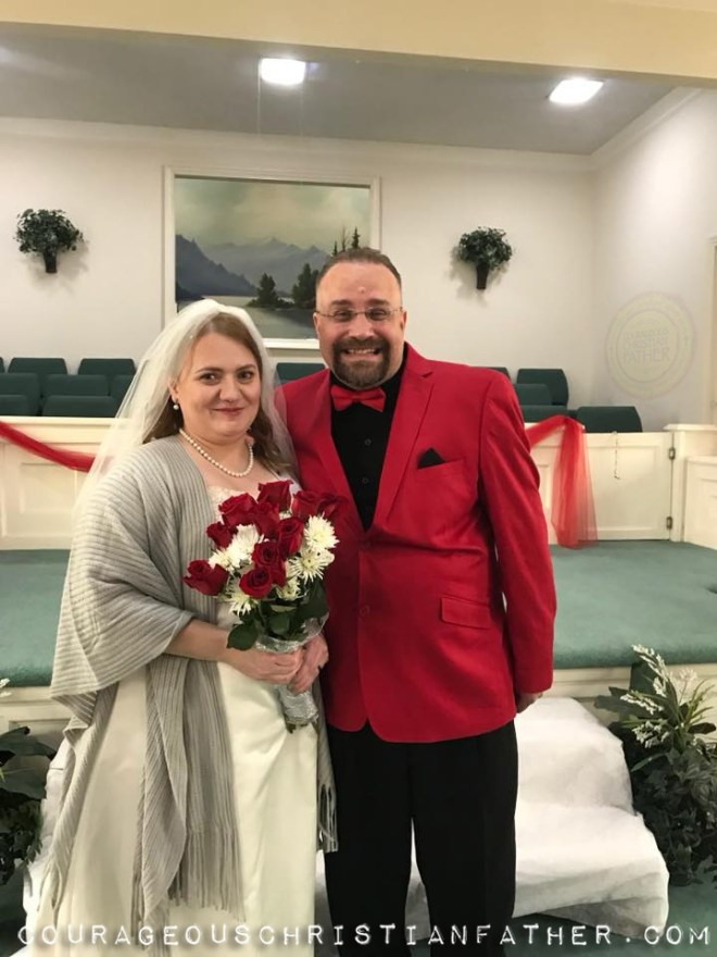 Heather & Steve Patterson | Photo Credit Jessie Neal (Today, February 17 is my first year wedding anniversary. I wanted to wish Heather a Happy Anniversary! I am looking forward to many more Anniversaries!)