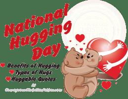 National Hugging Day #NationalHuggingDay