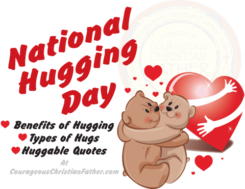 National Hugging Day #NationalHuggingDay