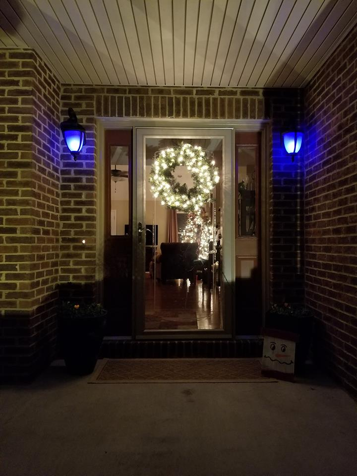 Project Blue Light (Photo compliments of Jeff Coffee) #ProjectBlueLight