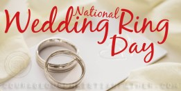 National Wedding Ring Day