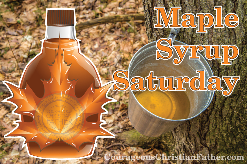 Maple Syrup Saturday