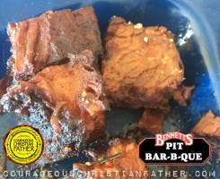 Bennett's Pit Bar-B-Que (Burnt Ends - Brisket)