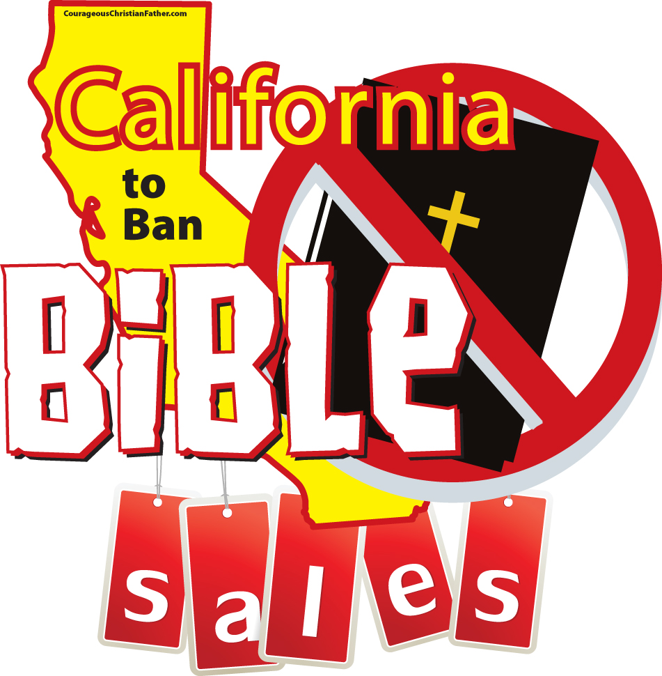 California to Ban Bible Sales
