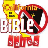 California to Ban Bible Sales