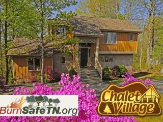 Chalet Village Nationally Recognized for Wildfire Preparedness - Burn Safe TN