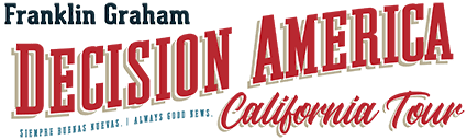 Decision America California Tour Logo
