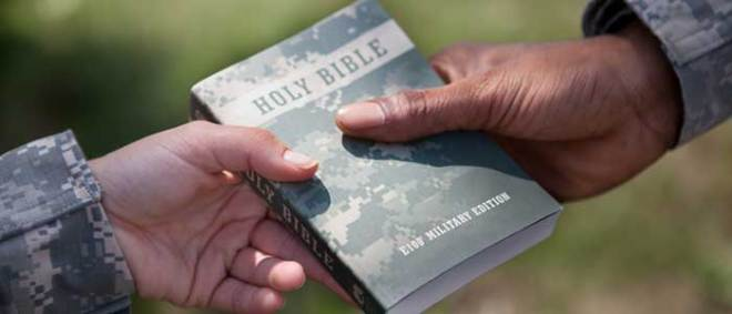 American Bible Society - E100 Military Edition Bible - Breaking News: Baptist Army Chaplain Faces Career-Ending Disciplinary Actions