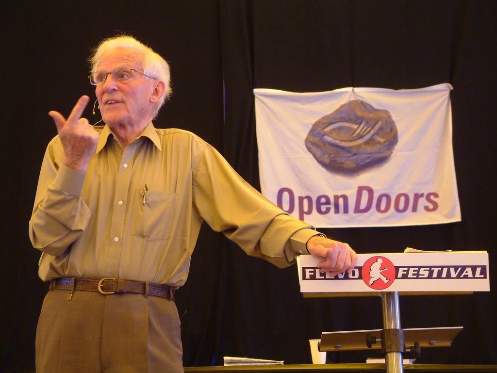Pioneer in Bible Distribution Turns 90 - Andrew van der Bijl is the founder of Open Doors International