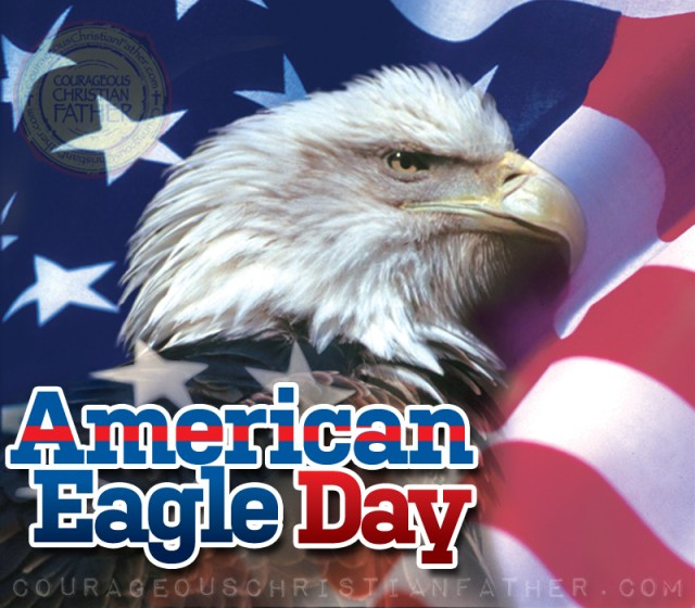 American Eagle Day - The Bald Eagle is a symbol the United States of America. This is the day when we commemorate the day the eagle was added to the official Seal of the United States of America. Also known as Bald Eagle Day. #AmericanEagleDay #BaldEagleDay #EagleDay