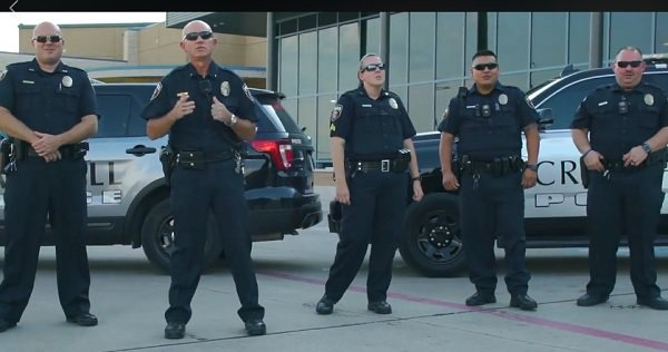 God's Not Dead Police Lip Sync