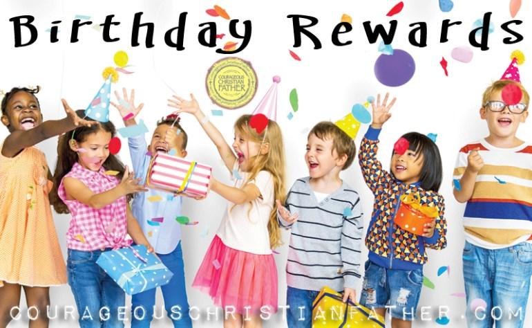 Birthday Rewards (Score some free items for your birthday)
