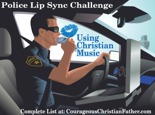 Police Lip Sync Challenge using Christian Music