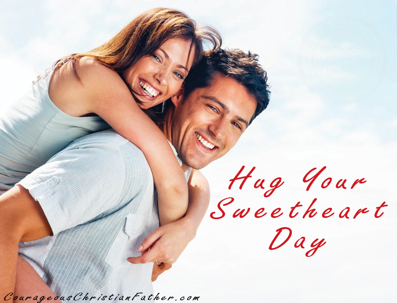 Hug Your Sweetheart Day