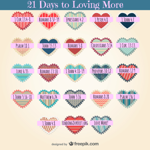 21 Days to Loving More