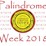 Palindrome Week 2018