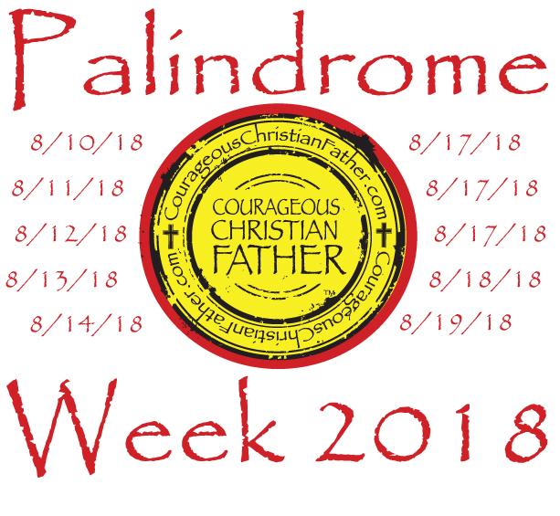 Palindrome Week 2018