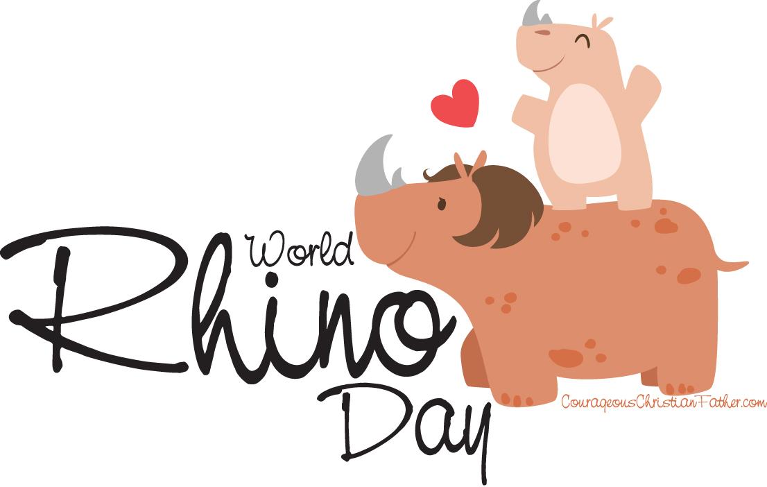 World Rhino Day - Day set aside for the rhinoceros. #WorldRhinoDay