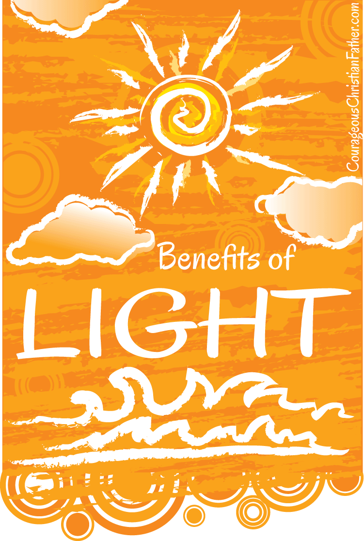 Benefits of Light - This weeks Friday Night Lights shares what the benefit of light is. The Bible tells us we are the Light of the World. Matthew 5:14-16