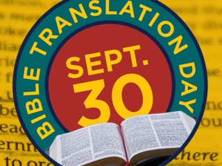 Bible Translation Day - #WhyBible wants to help make conversations about the Bible and the need for translations in other languages. Plus how it has changed lives too.