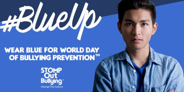 Blue Shirt Day also known as World Day of Bullying Prevention. #BlueShirtDay #BlueUp