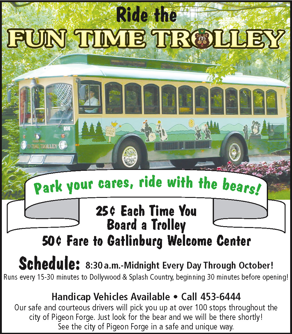 Funtime Trolley Ad