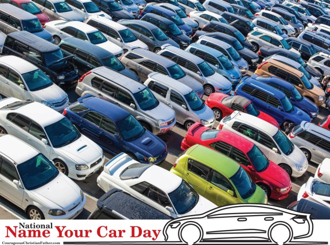 National Name Your Car Day - If you haven't named your car yet, this is the day to do it! #NationalNameYourCarDay #NameYourCarDay