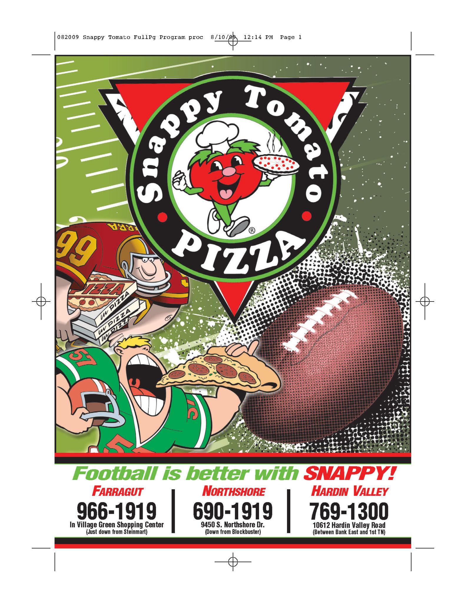 Snappy Pizza (farragutpress)