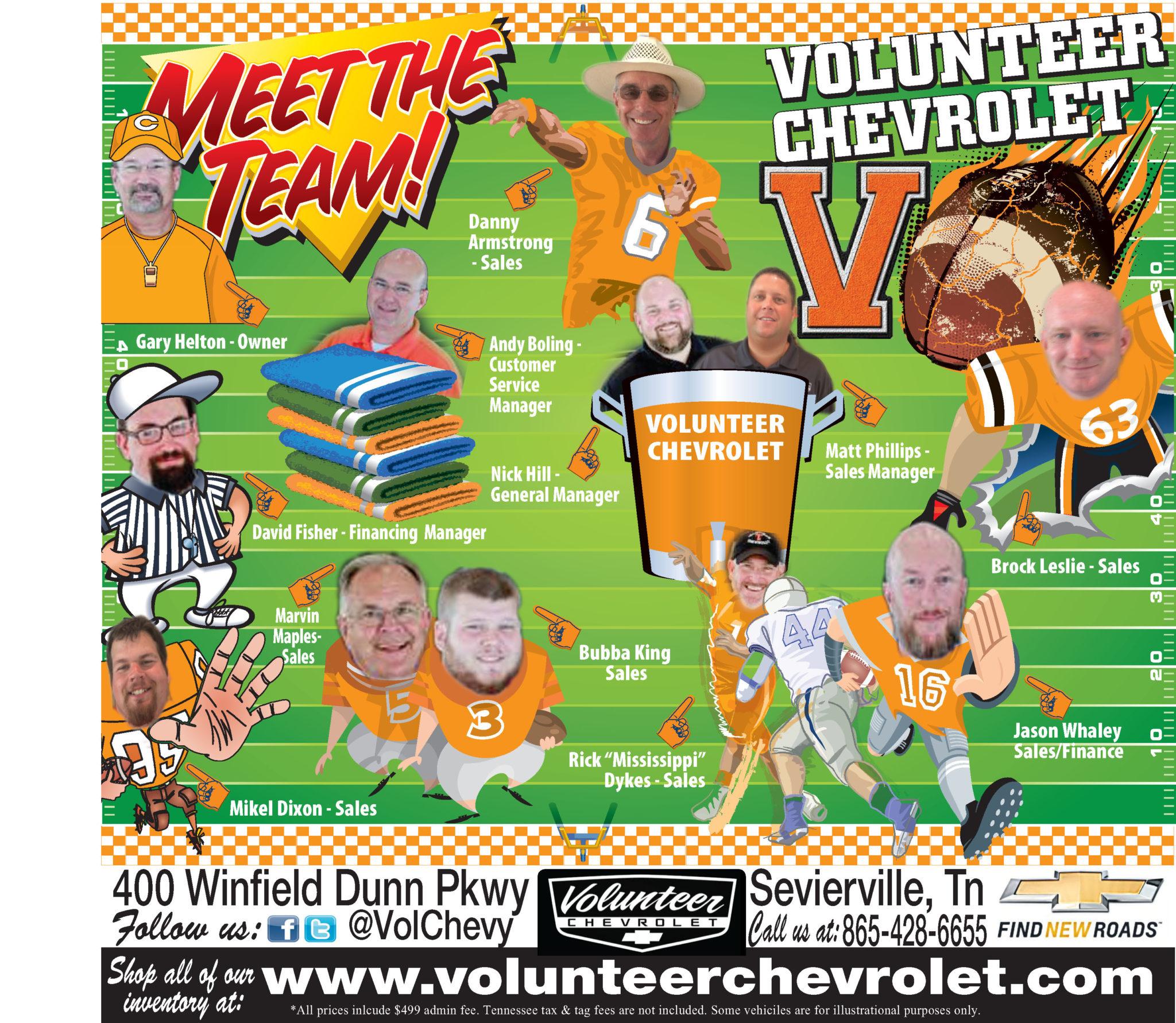 Volunteer Chevy Ad