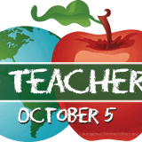 World Teachers Day - A day to honor teachers world wide. Also known as International Teachers Day #WorldTeachersDay #TeachersDay