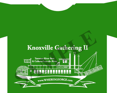 Knoxville Where's George Shirt