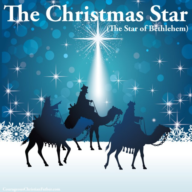 The Christmas Star or known as the Star of Bethlehem which was the brightest star that led the way for those to witness the birth of the Messiah ... Jesus Christ.