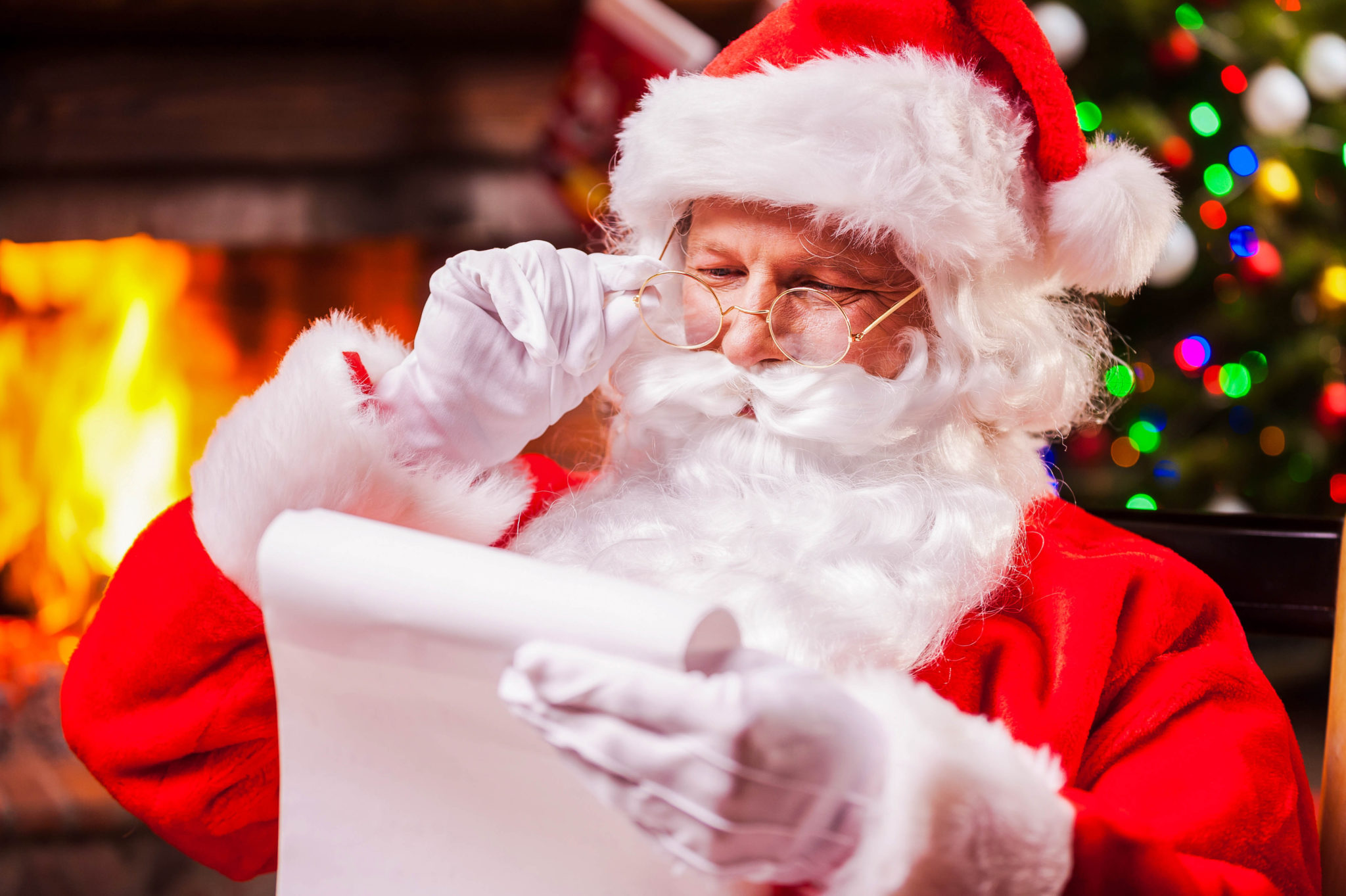 Santa's List Day - He's checking his list, he's checking it twice. He's gonna find out who's been naught or nice.