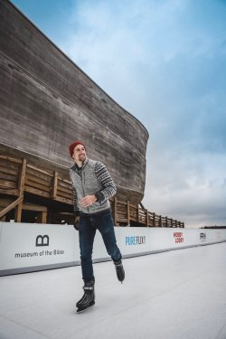 The Ark Encounter's Glice® Rink is made possible through the generous support of these organizations.
