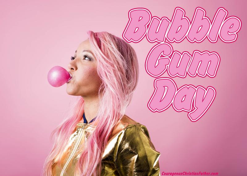 Bubble Gum Day #BubbleGumDay