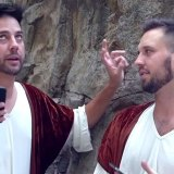 If Bible Characters had iPhones by John Crist. IN this video Trey Kennedy also helps share what it would have been like if Bible Characters had iPhones.