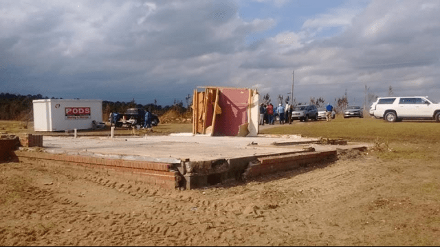 Prayer Closet Remains Standing After Tornado - All of the rest of this one grandmother's home was destroyed, all but the Prayer Closest that stood firm. | Photo Jason Smith