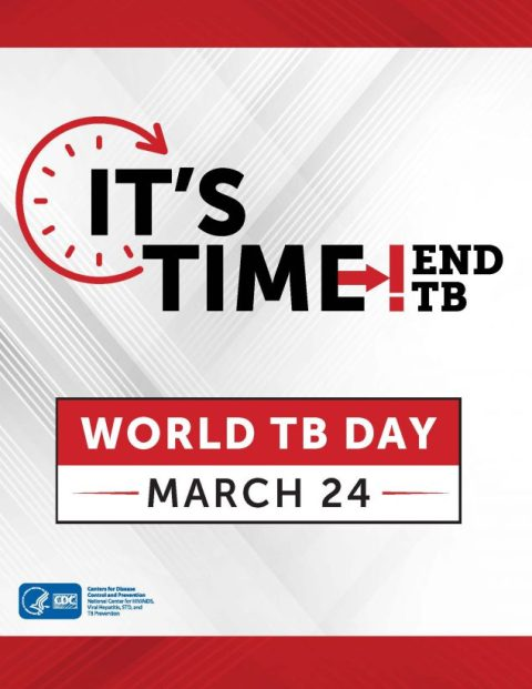World Tuberculosis Day - a day to raise awareness of tuberculosis (TB) and this deadly, but preventable and curable disease.