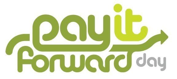 Pay it Forward Day - a day to do some random kindness to strangers and pay it forward. #PayItForward #PayItForwardDay
