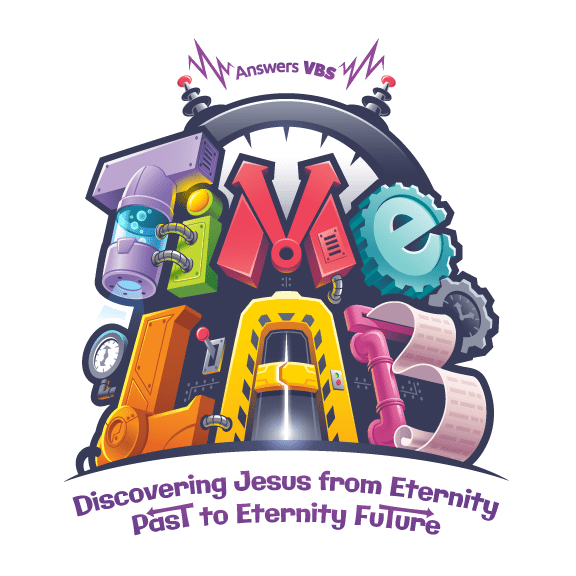 Time Lab VBS which is part of the Answers in Genesis (AiG). It is their curriculum for Vacation Bible School. It came out for the 2018 year. My church True Life Church is doing that theme this year. #TimeLab