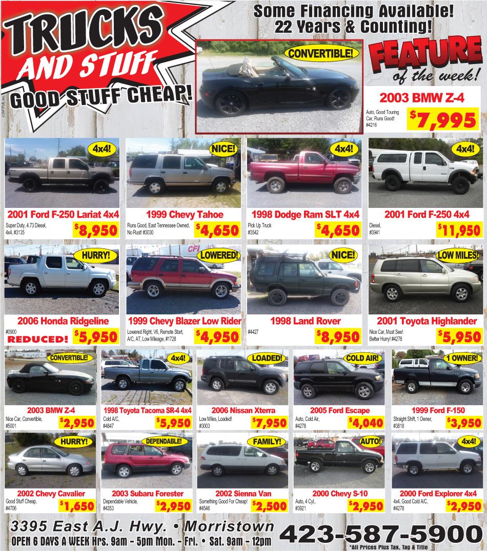 Trucks And Stuff Ad