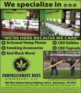 Compassionate Buds Dispensary Ad