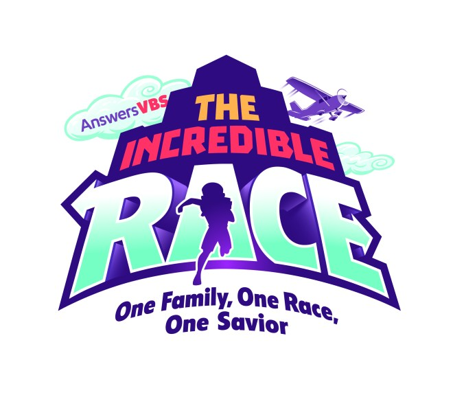 The Incredible Race VBS is the 2019 Answers in Genesis (AiG) theme for Vacation Bible School. This theme is about One Family, One Race, One Savior. #IncredibleRace