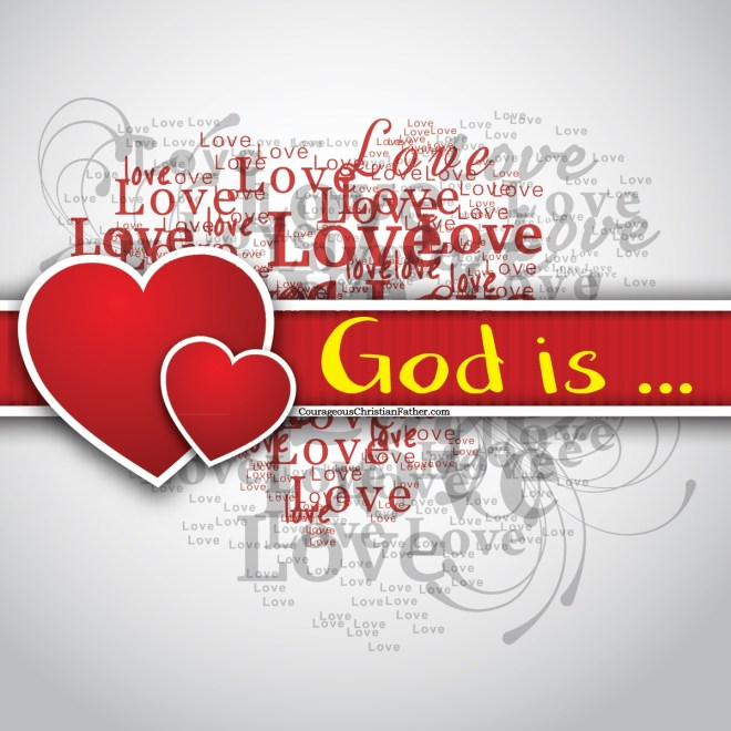 God is Love - Attribute of God - Day 29 - on this days challenge we had to read and write out Romans 8:36-39 and share what attribute(s) of God we see. Part of the 31 Days of the Attributes of God.